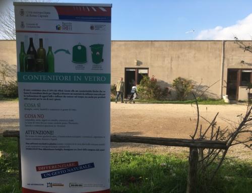 Porta a porta, ritiro kit a Villa Albani e Via Tarquinia
