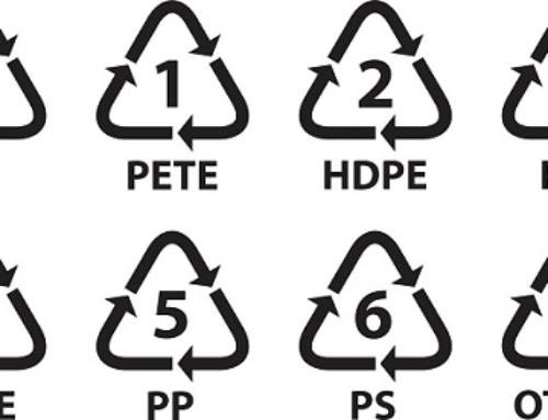 PAP, codici di riciclaggio plastica