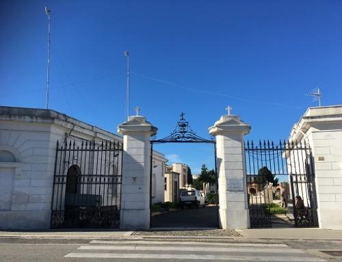 Cimitero vecchio chiuso al pubblico domenica 12 maggio