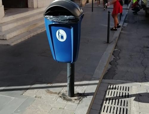 CSP INFORMA: iniziata la posa dei cestini portarifiuti